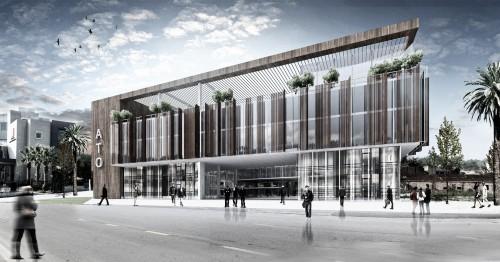 Satınalma Ödülü-Adana Ticaret Odası Hizmet Binası Ulusal Mimari Proje YArışması
